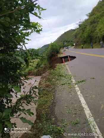 Graves daños en vía La Virginia y Apía - Eje21