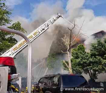Philadelphia FF injured in three-alarm residential blaze