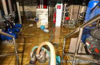 Wasserschaden stoppt Wasserratten in Hallstadt