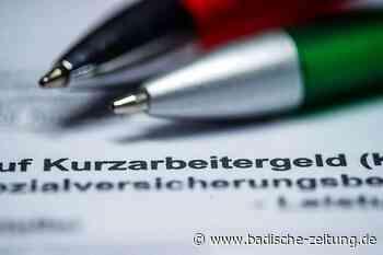 Für 66.965 Ortenauer war im Mai Kurzarbeit angemeldet - Offenburg - Badische Zeitung
