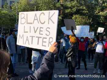 George Floyd killing sparks anti-Black racism rally in Aurora - NewmarketToday.ca