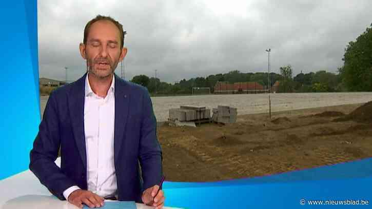Gemeente Bertem volop bezig aan bouw nieuwe sporthal en tweede kunstgrasveld
