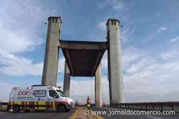 Içamento da ponte do Guaíba é reativado após recuperação em pilar - Jornal do Comércio