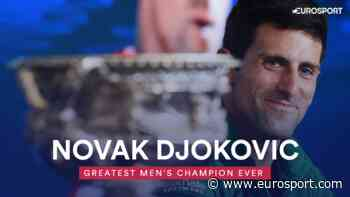 Result: Novak Djokovic voted greatest men's champion ever - Eurosport - INTERNATIONAL (EN)
