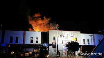 Feuer im Fitnessstudio in Kalkar: Hinweise auf Brandstiftung - NRZ