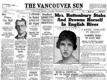 This Week in History: 1935: Sex, drugs, murder and suicide — the Rattenbury case had it all