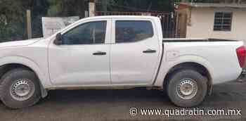 Detiene SSP a sujeto con vehículo robado en Uruapan - Quadratín - Quadratín Michoacán