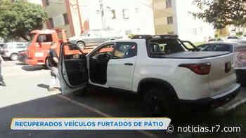 PC recupera veículos furtados da Secretaria de Saúde de Contagem - R7