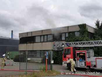 Brand(stichting) in leegstaand kantoor