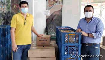 600 kits de bioseguridad para cafeteros de Hobo - Opanoticias