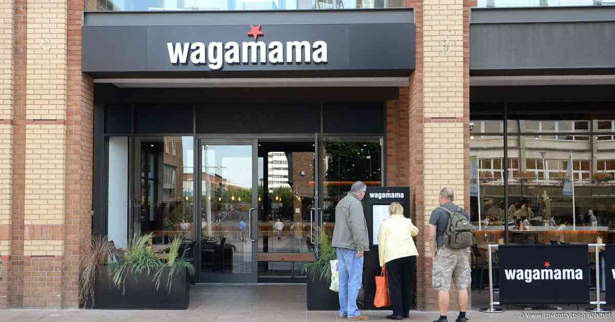 Wagamama in Coventry launches click and collect takeaway service - Coventry Telegraph