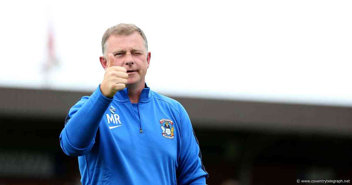 Revealed: Where Coventry City boss Mark Robins ranks among League One colleagues - Coventry Telegraph