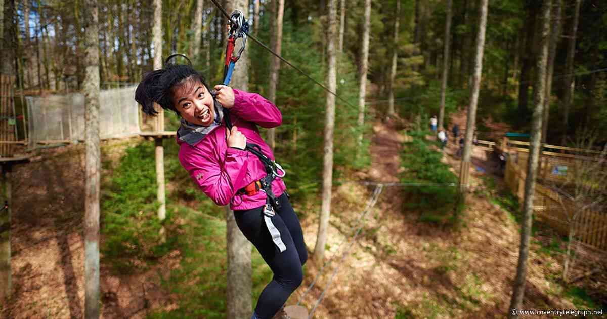 Go Ape to reopen Coventry attraction next month - Coventry Telegraph