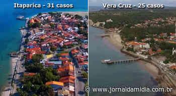 Coronavírus na Ilha de Itaparica: casos já chegam a 56, mostra boletim oficial da Sesab. - Jornal da Mídia