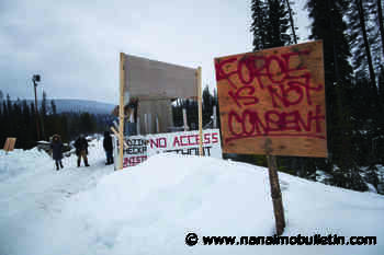 No charges to be laid against 22 northern B.C. pipeline protesters