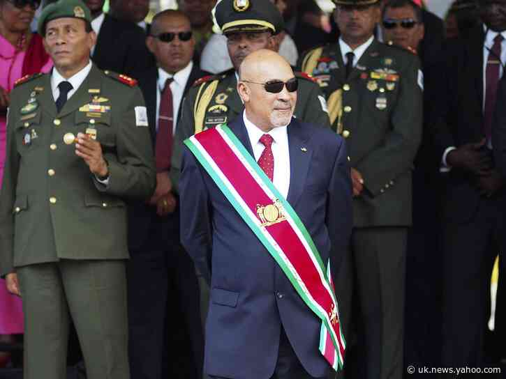 Suriname finally issues vote results showing opposition win