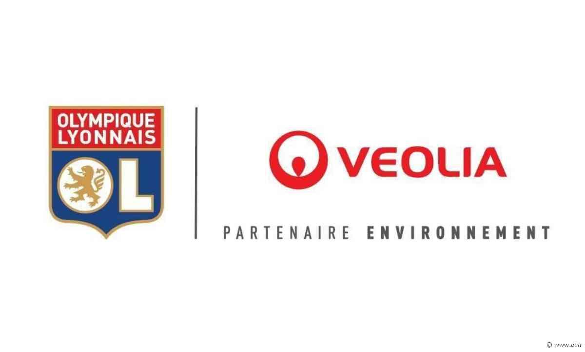 L'Olympique Lyonnais s'engage avec Veolia pour définir la stratégie carbone du club et annonce la sortie d'un T-shirt Training 100% recyclé - Olympique Lyonnais