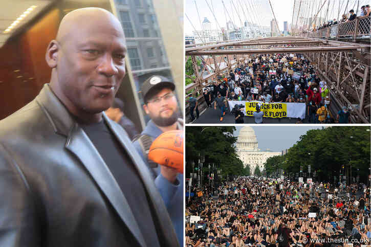 Michael Jordan and Jordan brand pledge huge $100m fund to fight racism and inequality amid worldwide protests