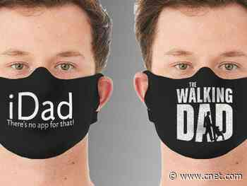 Celebrate fatherhood with 2-packs of dad-themed face masks for $14     - CNET