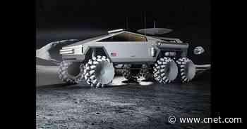 Tesla Cybertruck turned SpaceX NASA moon rover looks properly wild     - Roadshow