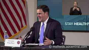 Dr Christ and Gov Ducey on increase of COVID-19 cases in Arizona