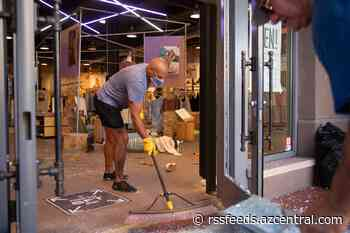 Cleanup continues in Scottsdale after looting, vandalism