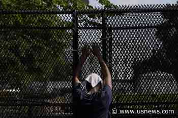 Tall Fencing Creates Large, Imposing Perimeter Around White House