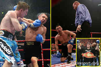 Ricky Hatton upset the odds and retired Kostya Tsyzu, the Floyd Mayweather of his era in 2005, so what was - talkSPORT.com