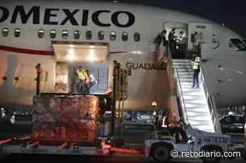 NACIONAL | Arriba vuelo 16 del puente aéreo México-China con más de 2 millones de cubrebocas - Reto Diario