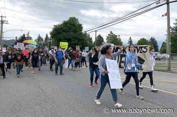 Hundreds fill Chilliwack streets for Black Lives Matter march