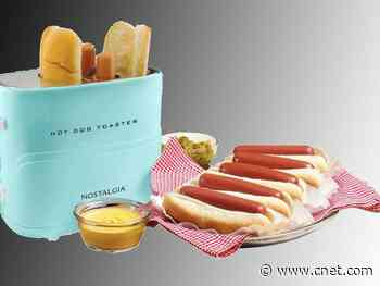 Toast hot dogs and buns together in this $10 relic of a time that never was     - CNET
