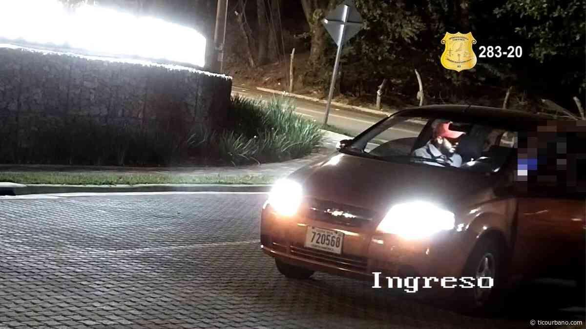 VIDEO: Sospechosos de robo de vehículo en Santa Ana - Tico Urbano