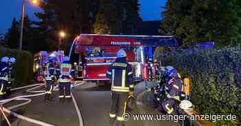Hoher Sachschaden bei Wohnhausbrand in Neu-Anspach - Usinger Anzeiger