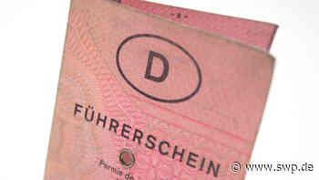 Polizei in Donzdorf: Ohne Führerschein mit falschem Kennzeichen - SWP