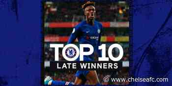 Chelsea's top 10 late winners ⏰ | Official Site - Chelsea FC