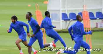 PICTURES: Anjorin, Bate, Broja, Lawrence join Chelsea first-team training - We Ain't Got No History