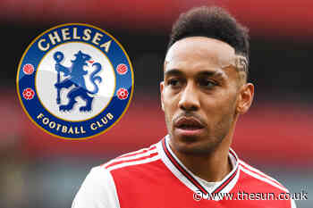 Arsenal star Aubameyang wanted by Chelsea in audacious transfer with striker available for just £20m this - The Sun