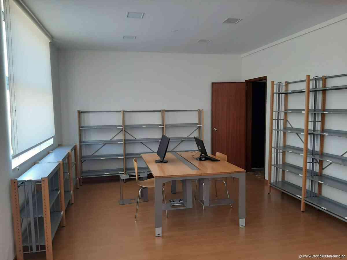 Aveiro: Edifício-Sede da Junta de Freguesia de Santa Joana melhora espaço da biblioteca - Notícias de Aveiro