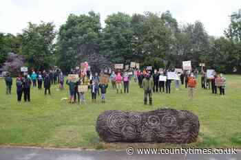 Welshpool and Machynlleth in Black Lives Matter demos - Powys County Times