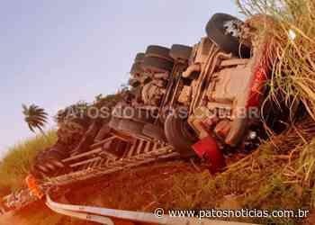 """Motorista morre em acidente na """"Curva do Belvedere"""" na BR-354 - Patos Notícias"""