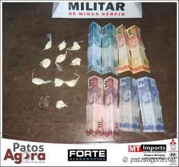 Polícia Militar de Patrocínio prende autor de tráfico de drogas - Patos Agora