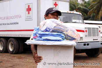 Cruz Roja Salvadoreña ayuda a comunidades afectadas en Barra de Santiago, Jujutla - Periódico Equilibrium