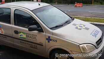 Carro falso do Ministério da Saúde é apreendido com drogas em Irati - Paraná Portal