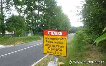 Claix : la route départementale 7 en travaux à partir du 10 juin - Sud Ouest