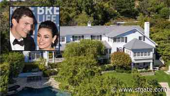 Ashton Kutcher and Mila Kunis Selling Beverly Hills Home for $14M - SF Gate