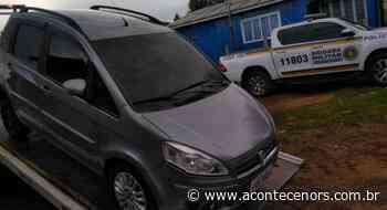 Homem é preso em flagrante por conduzir veículo clonado em Soledade - Acontece no RS