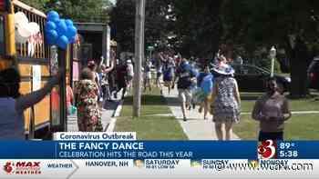 Fancy Dance school celebration hits the road Video - WCAX