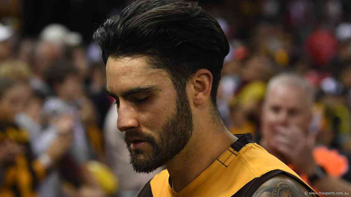 Wingard reveals AFL left him feeling 'like a piece of dirt' early in his career