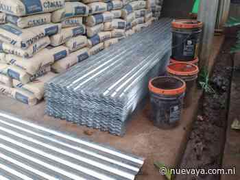 Gobierno Sandinista entrega materiales para construir galeras de ordeño en El Coral, Chontales - La Nueva Radio YA