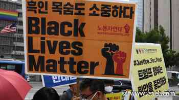 Global scenes of Black Lives Matter protests show outrage far beyond US     - CNET